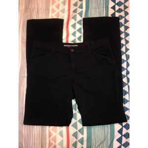 Dickies Relaxed Fit Women's Black Pants, Size 6R